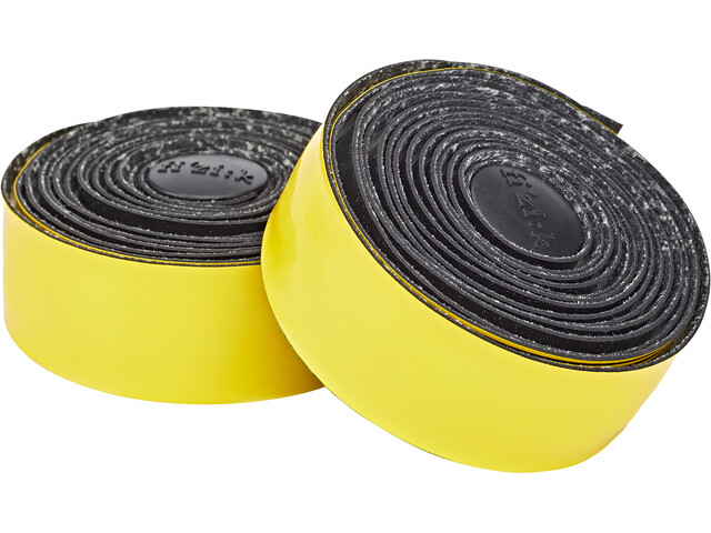 Fizik Vento Microtex Tacky Cinta de manillar 2mm, black/yellow